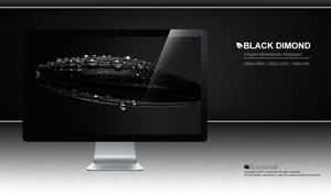 Black Dimond HD Wallpaper by solutionall