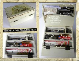 Travelling Collage Box by hogret