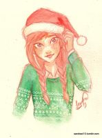 Christmas Anna by Sandra-13
