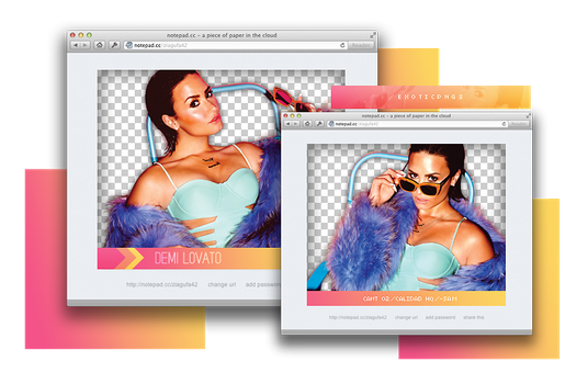 Pack png 843 // Demi Lovato by ExoticPngs