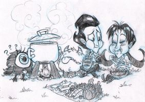 Don't Starve - Willowson - We Won't Starve by Ka-Star