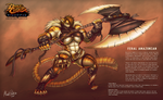 Battle Chasers Nightwar - Creature Contest Entry by Mark-MrHiDE-Patten