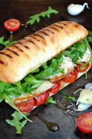 Italian Chicken Panini by Catlerhyne