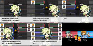 Welcome to the Pokemon Master Tournament! by rayd12smitty