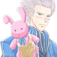 Vergil says hello too..? by sapphirez