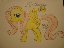 Fluttershy by spidyphan2