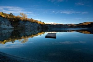 St Bathans Blue Lake by chrisgin