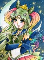 G: ACEO #122: Elegant Sailor Rainbow Prism by MTToto