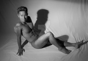 Male Nude by SirWilliam1