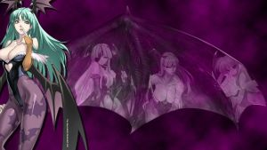 Morrigan Wallpaper by The-Red-Jack03