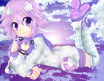 Neptune and Purple Heart by YumiMyNinja