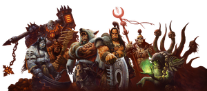 Warlords of Draenor - Background removed - S by Ammeg88