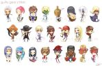 Guilty Gear Chibis Full by cika