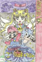 Mario And Sonic At The Second Dimension Title Page by MarioSonicMoon