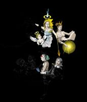 Invocation of the Heavenly Muses, In Progress by Eduardo-Tarasca