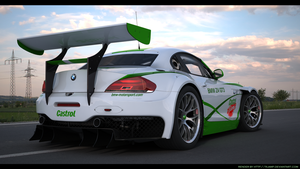 BMW Z4 GT3 Custom Castrol racing 3 by RJamp