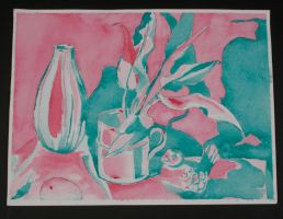 Complentary Colors Still Life by ShelbyGT-500KR