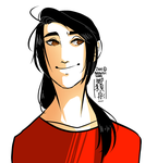 Askyaoyao: Yao has a selfie drawn out too by Lil-Wang