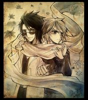 Inkwash AT: LukexDaniel by Ruri-dere