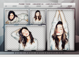 PACK PNG 79| PHOEBE TONKIN by MAGIC-PNGS
