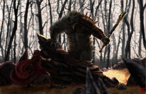 LRRH: The Big Bad Wolf by Changinghand