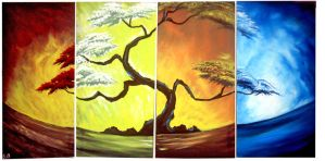 4 Seasons of the year 2 by artsoni