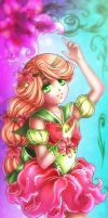 Bookmark Style Commission: Sailor Florentina by galia-and-kitty