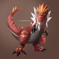 Tyrantrum by kccv