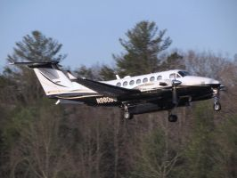 King Air 350 Takeoff by InDeepSchit
