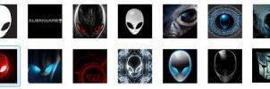 Alienware User Tiles -Avatars by hod-master