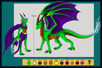 Ref sheet Tyrin by Arenthor