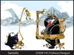 CHOW 107: Steampunk Penguin by Samolo