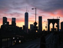 new york in twilight by Marl1nde
