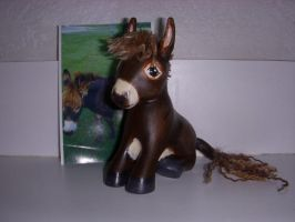 My Little Pony Custom Donkey by colorscapesart