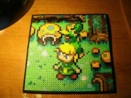 Perler Beads - Minish Cap by Piranha2021