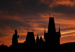 the  father in Prague by VaggelisFragiadakis