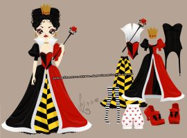 Poupee Girl - Queen of Hearts- by SolDevia