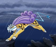 Lord of Thunder - Raikou by DarkFeather