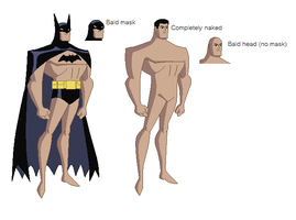 DCAU - Batman base by juanito316ss