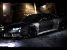 Nissan Silvia S15 by Sedatgraphic2011