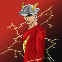 Old Man Flash by Santini