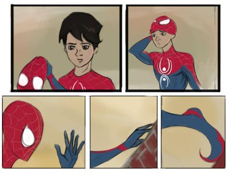 Upcoming Spiderman comic by Sky-Rick