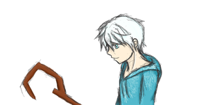 Jack Frost Pensketch v2 by faer-windstormfan