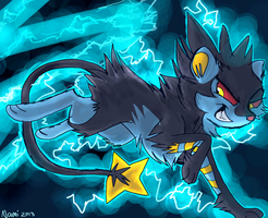 Luxray by IamtehPILOT