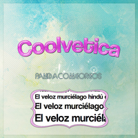 Coolvetica by PandaComeOreos