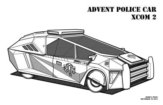 Advent Police Car by TacticalCrash