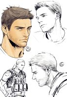 Chris Redfield by dagehao