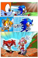 Adamis Sonic Boom comic (Colored) page 2 by miitoons