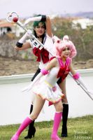 SETSUNA AND CHIBIUSA by Yunnale