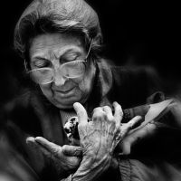 the hands of love and wrinkles by VaggelisFragiadakis